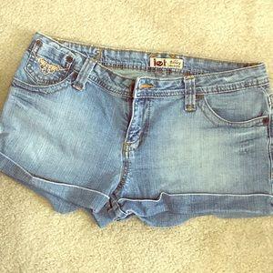 Lei Ashley Ultra lowrise jean shirts size 13